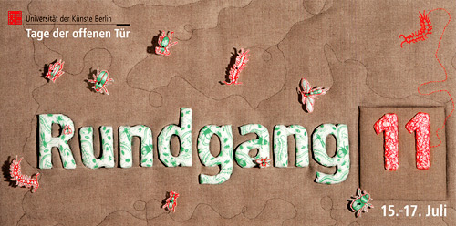 Rundegang University of the Arts 2011 Flyer
