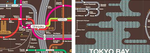 Zero Per Zero Tokyo Railway Map Details