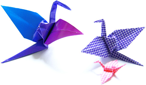 Origami Crane Folding
