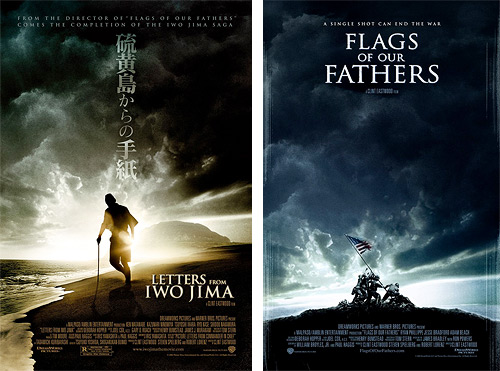 Flags of our Fathers Letters from Iwo Jima Movie Posters
