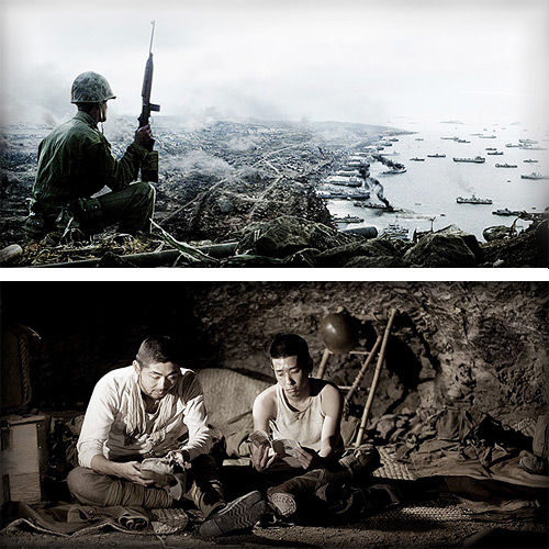 Flags of our Fathers Letters from Iwo Jima Movie Stills