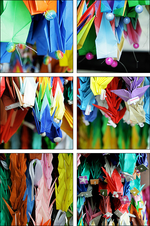 Origami Cranes in Hiroshima 2010