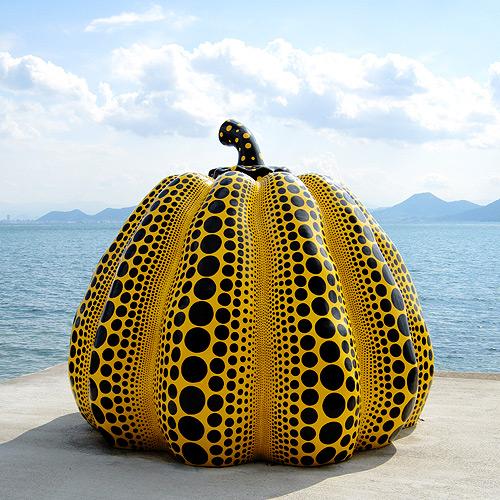 Yellow Pumpkin Yayoi Kusama