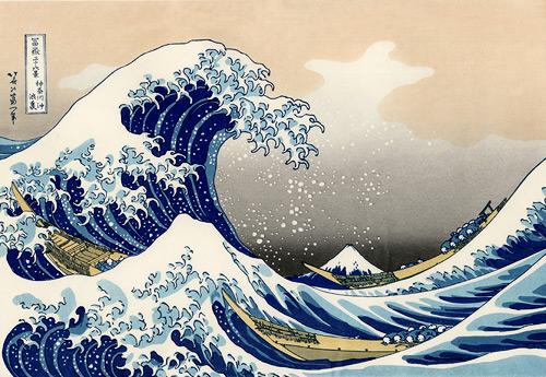Big Wave of Kanagawa Hokusai