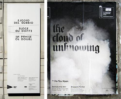 Venice Posters Typography
