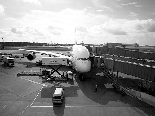 Airbus A380-800 Narita Airport