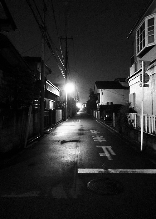 Night Streets in Kodaira-shi (or Kokubunji-shi)