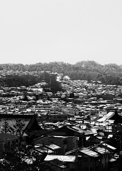 Kanazawa in Snow