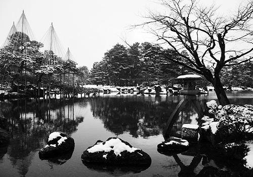 Kanazawa in Snow Kenroku-en
