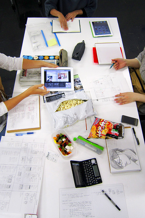 Musabi Information Design Groupwork